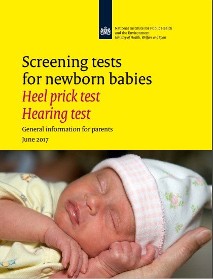Screening tests for newborn babies: Heel prick test & Hearing test